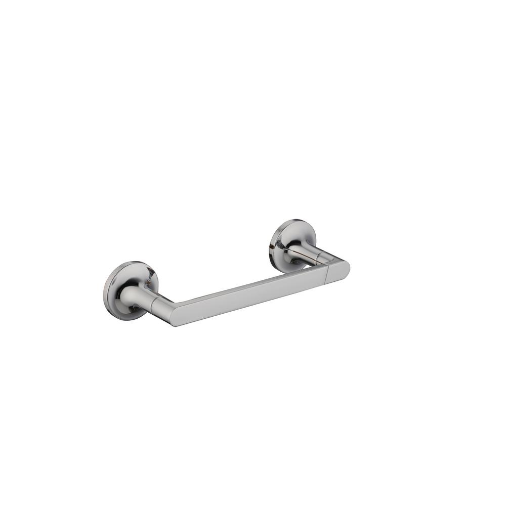 Myer Contemporary Double Post Toilet Paper Holder in Chrome