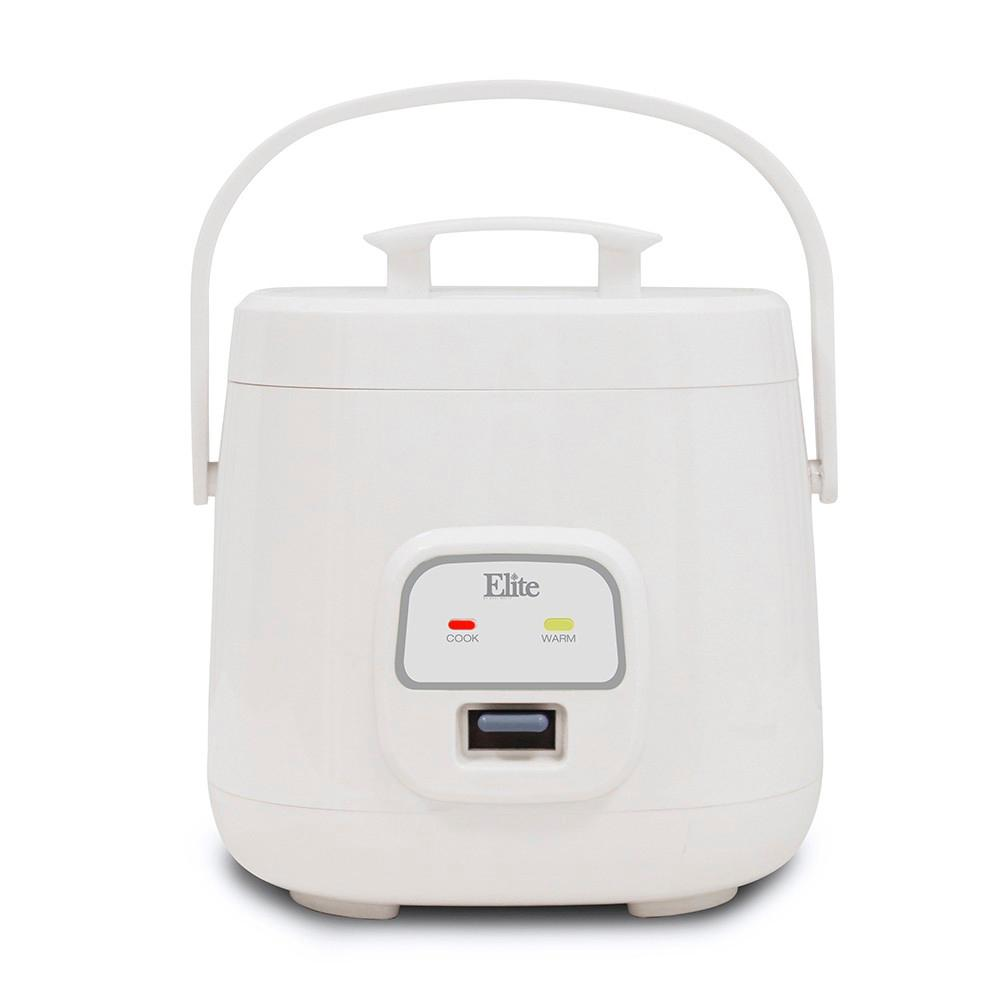 Elite Cuisine 4 Cup Mini Rice Cooker-ERC-135 - The Home Depot