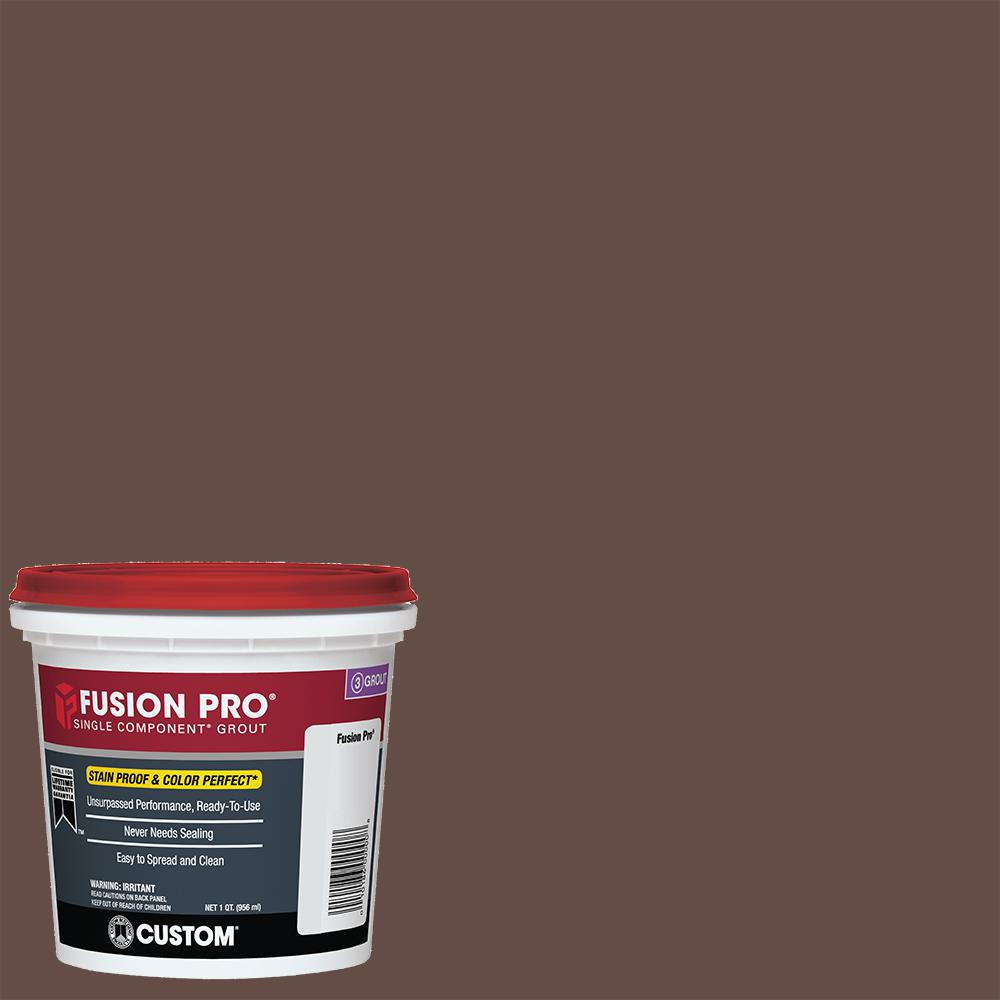 Custom Building Products Fusion Pro #95 Sable Brown 1 Qt....