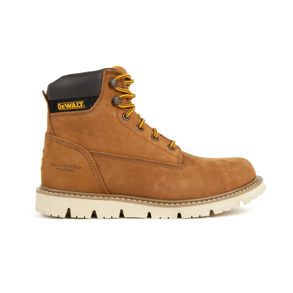 DEWALT Flex Men's Size 9(W) Sundance Nubuck Leather Steel Toe 6 in  Work  Boot