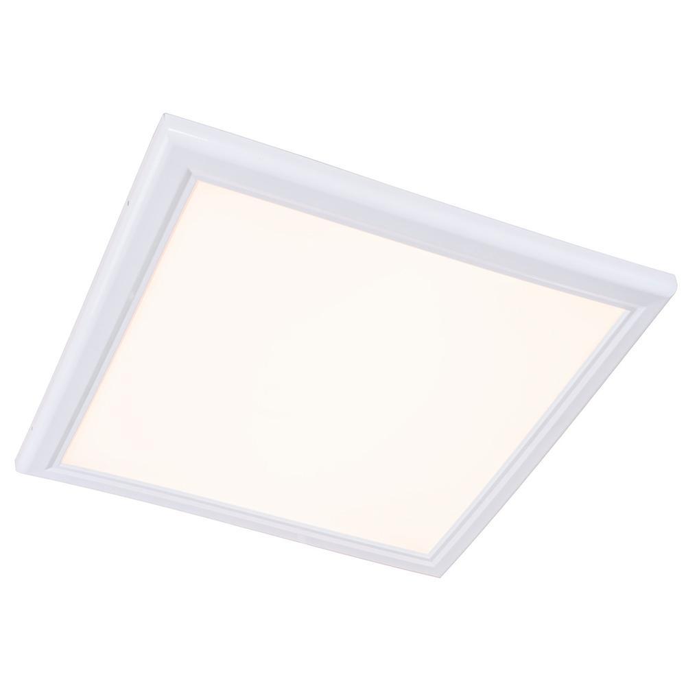 Commercial Electric 2 Ft X 4 White Led Edge Lit Flat Panel T 50 Inch Light Bar Wiring Diagram 61 Watt 2700k Integrated
