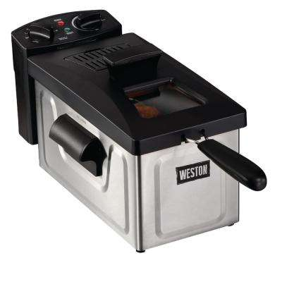 12-Cup 3 l Oil Capacity Deep Fryer