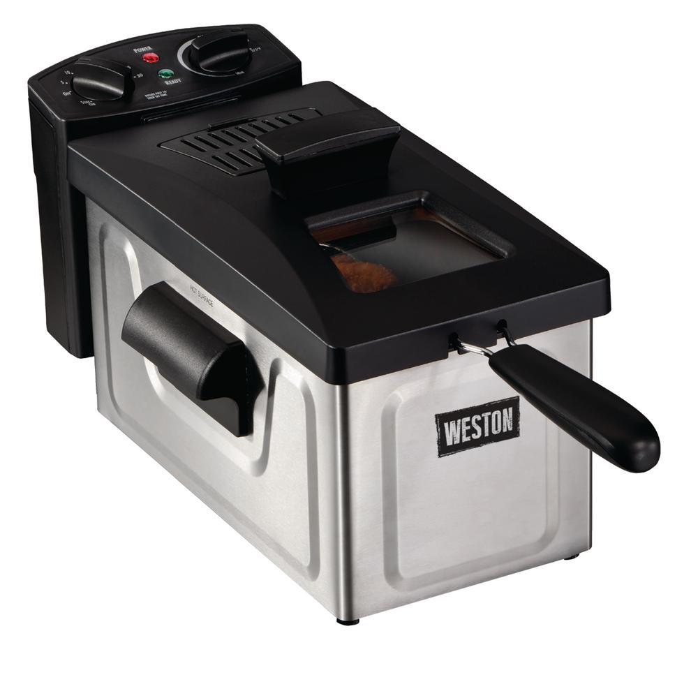 Weston 12-Cup 3 l Oil Capacity Deep Fryer 03-1200-W