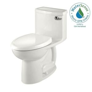 American Standard Compact Cadet 3 FloWise Tall Height 1-piece 1.28 GPF Single Flush Elongated Toilet in White with Right... by American Standard