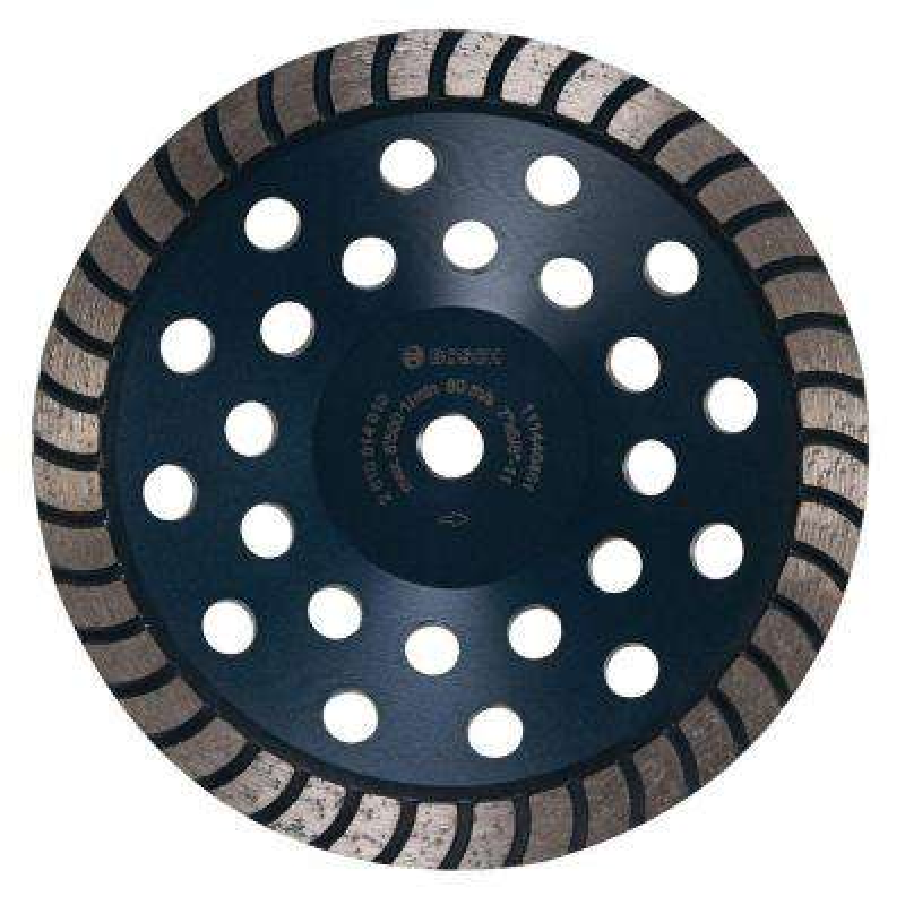 7 in. Turbo Row Diamond Cup Wheel