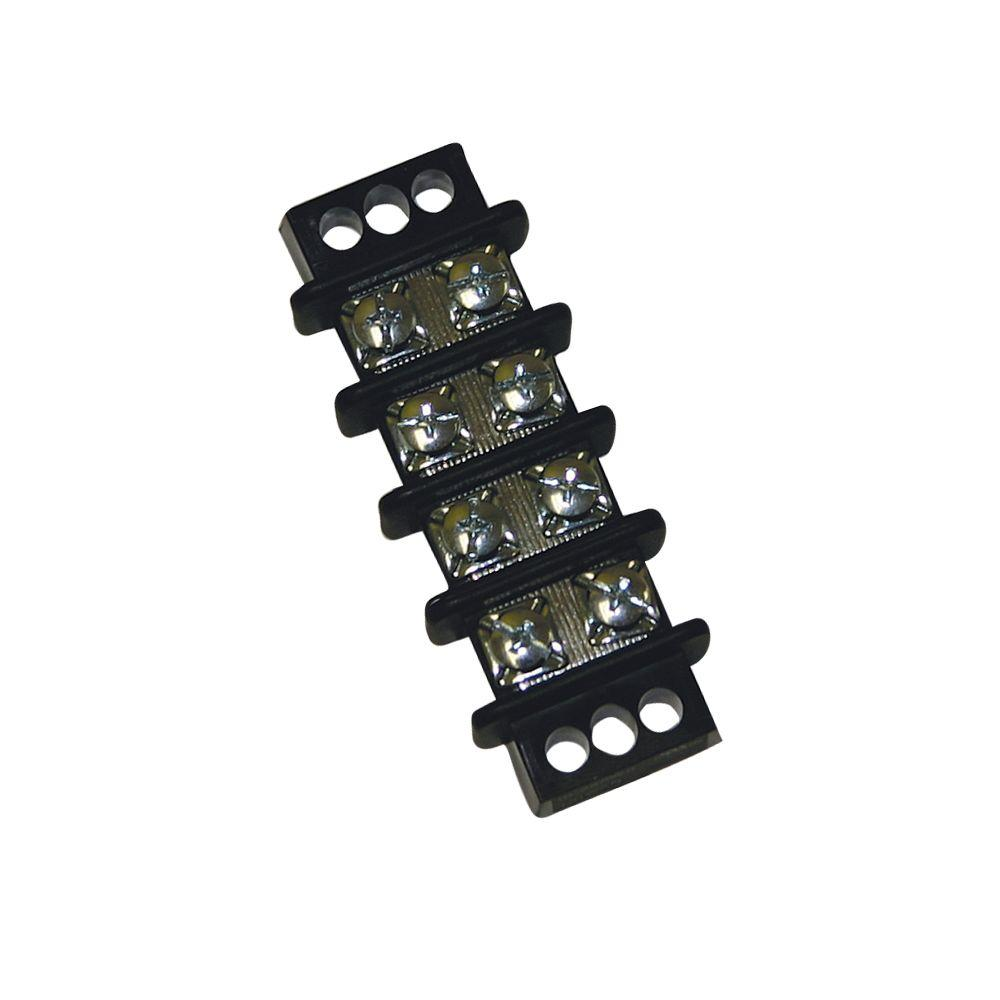 Tyco Electronics Double Row Terminal Block 4 Position 1/Clam-CA7323 ...