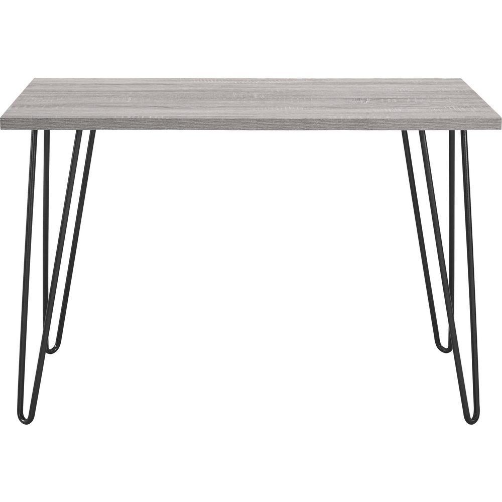 Montrose Weathered Oak/Gray Retro Desk