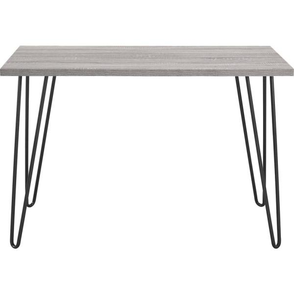 Ameriwood Home Montrose Weathered Oak/Gray Retro Desk HD68120