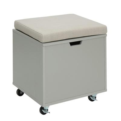 Charles London Grey Small Office File Bench