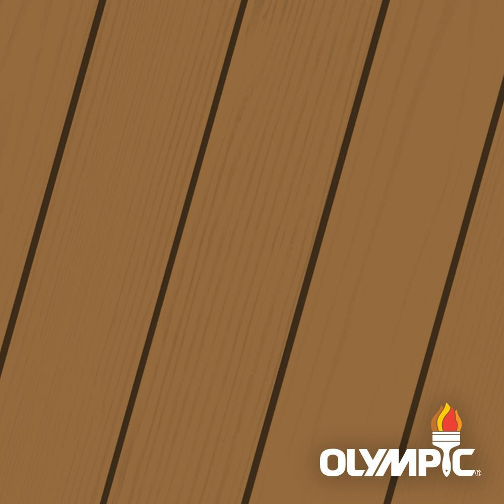 Olympic elite 1 gal timberline semi transparent advanced - Home depot exterior paint color chart ...