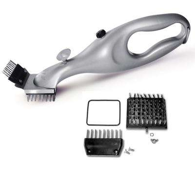 Grill Cleaning Tool with Replacement Brush