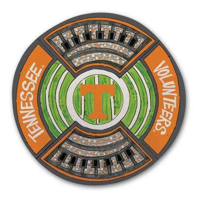 Tennessee Football Stadium Melamine Platter