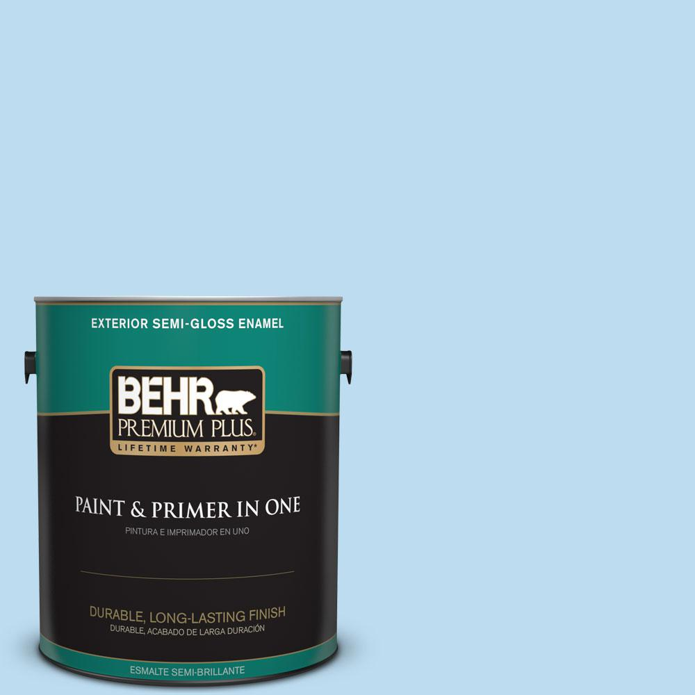 1-gal. #550A-2 Tropical Pool Semi-Gloss Enamel Exterior Paint
