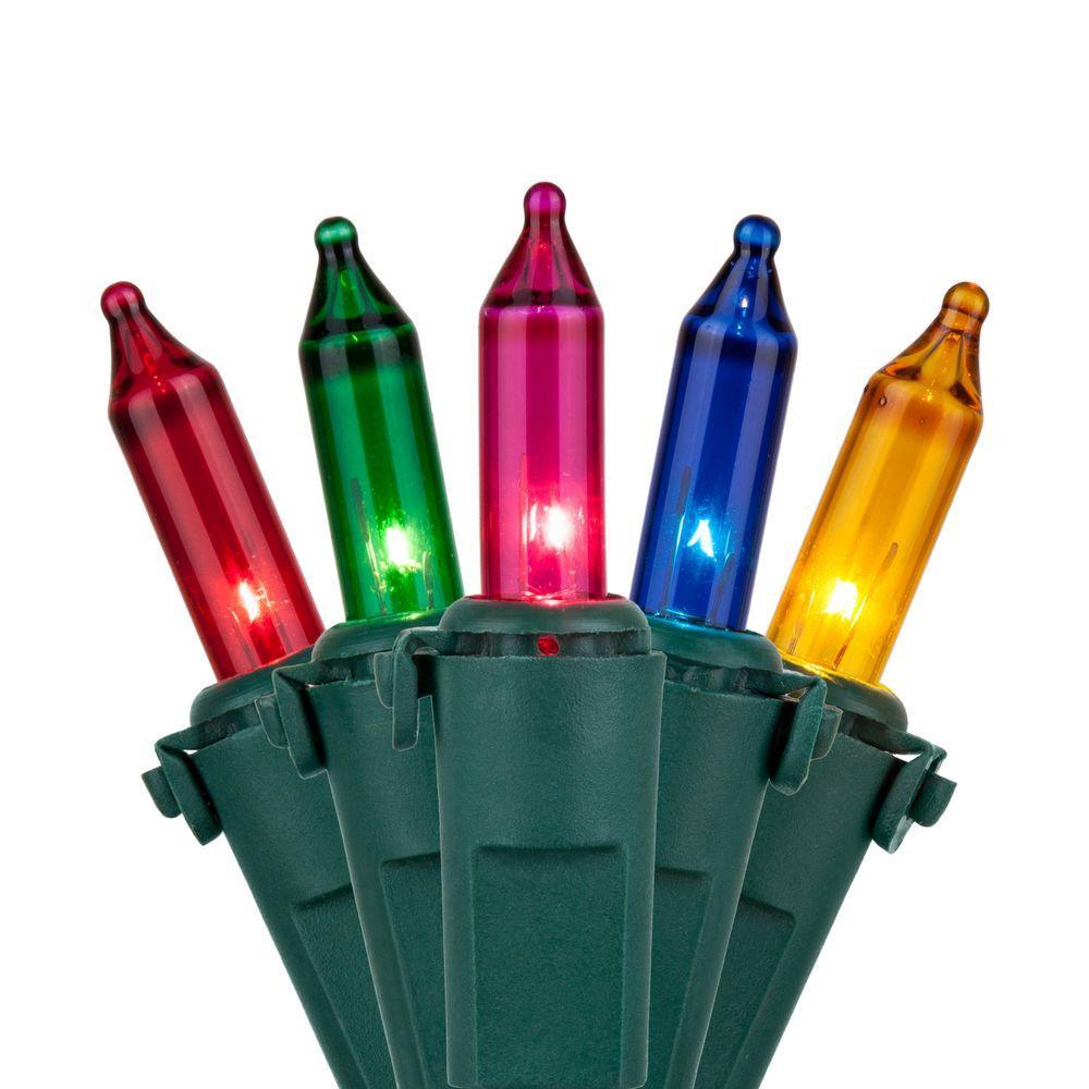 100-Light Multi-Color Mini Light Set
