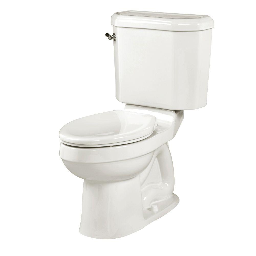 American Standard Doral Classic Champion 4 2-piece 1.6 GPF Right Height Elongated Toilet in White