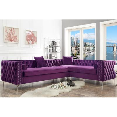 Awe Inspiring Purple Sofas Loveseats Living Room Furniture The Gmtry Best Dining Table And Chair Ideas Images Gmtryco