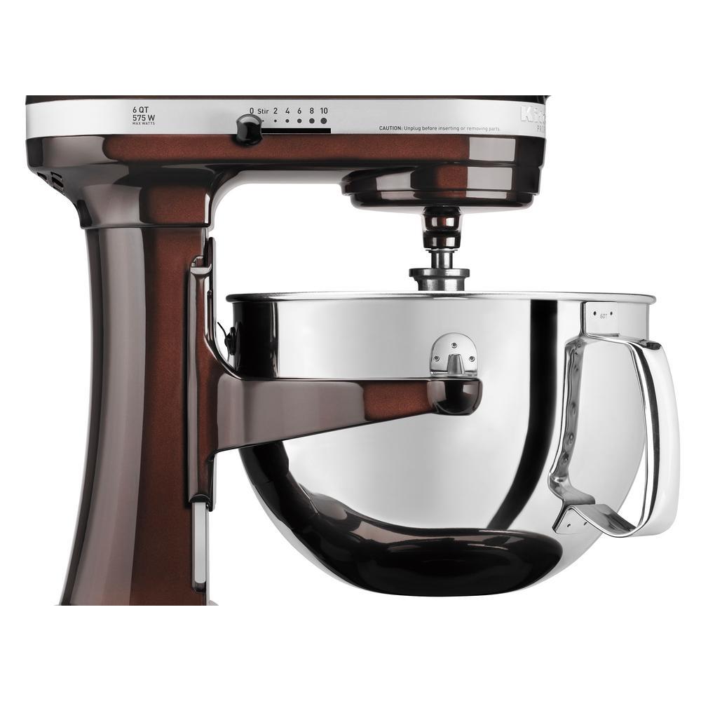 KitchenAid Professional 600 Series 6 Qt. 10-Speed Espresso ...
