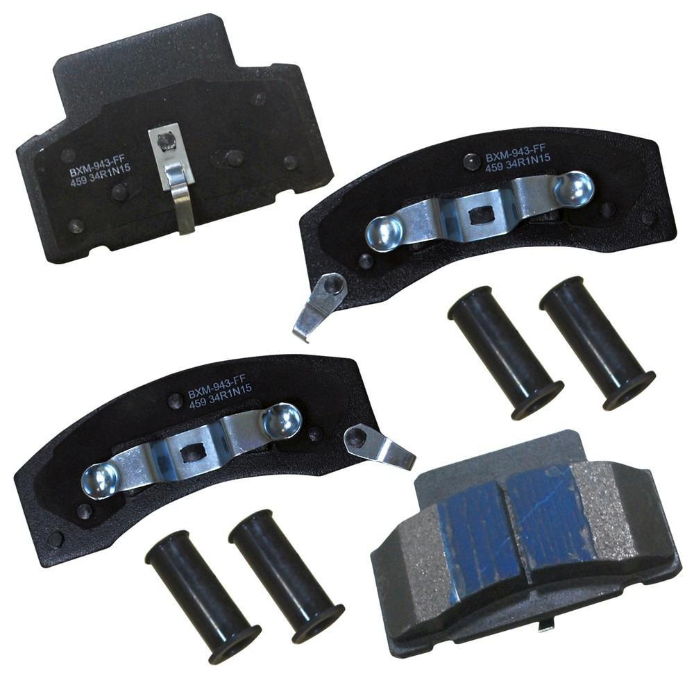 Front Disc Rotors /& Semi-Metallic Brake Pads Fits K3500 Ram 2500 3500