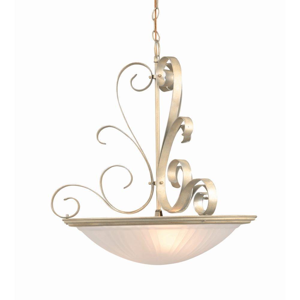 Illumine 3-Light Pearl Semi Flush Mount
