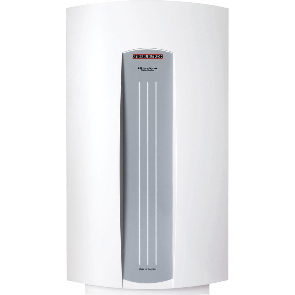 Stiebel eltron dhc 5 2 4 8 gpm point of use tankless for 4 bathroom tankless water heater