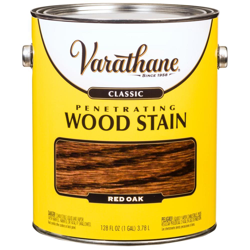 Varathane 1 Gal Red Mahogany 250 VOC Classic Wood Interior Stain 2 Pack