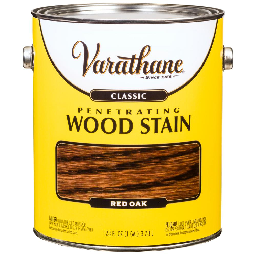 1 gal. Red Oak Classic Wood Interior Stain (2-Pack)