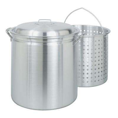 60 qt. All-Purpose Stockpot with Steam/Boil Basket