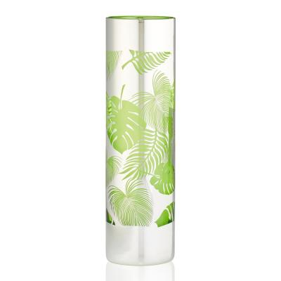 16 oz. Tropical Leaves Tom Collins Glass (Set of 4)