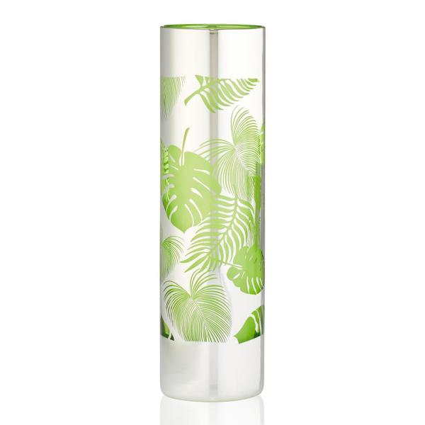 Artland 16 oz. Tropical Leaves Tom Collins Glass (Set of 4)