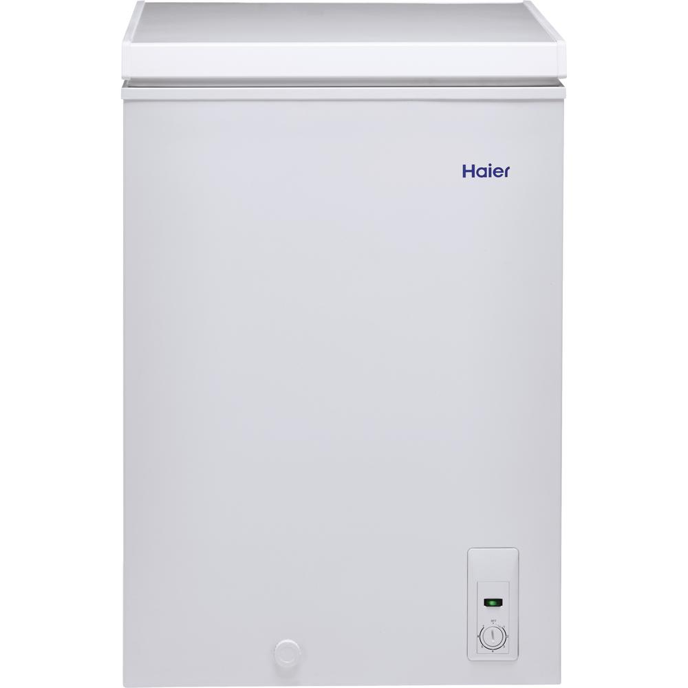 Haier 35 cu ft Chest Freezer in WhiteHFC3501ACW The Home Depot