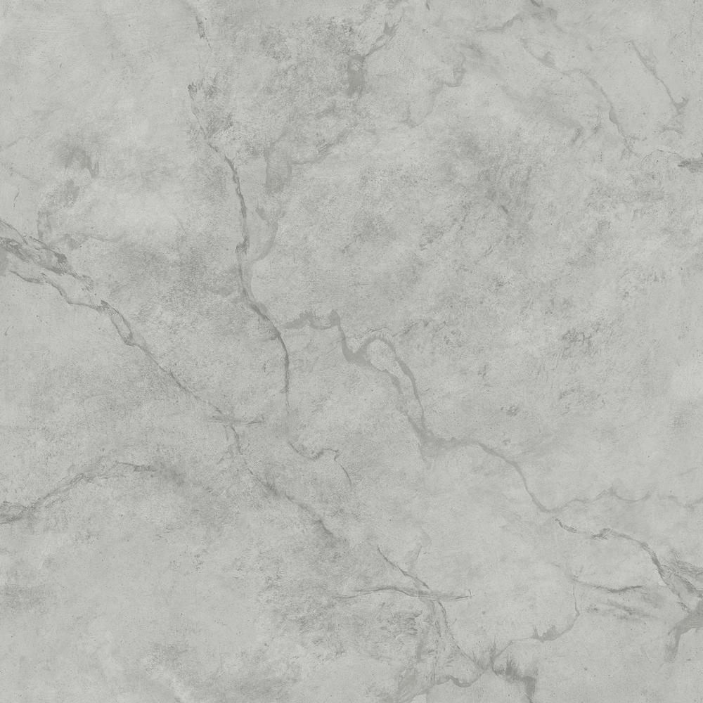 Innuendo Grey Marble Wallpaper
