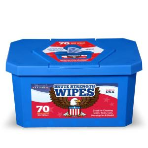 Industrial Strength Pre-Moistened Wipes (70-Count) by