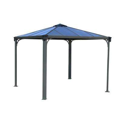 Palermo 3000 10 ft. x 10 ft. Aluminum Frame and Hard Top Gazebo