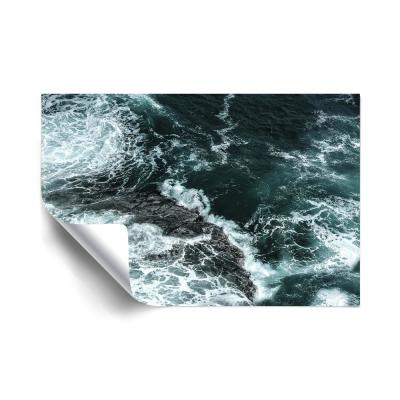 Waves II Beach and Nautical Removable Wall Mural