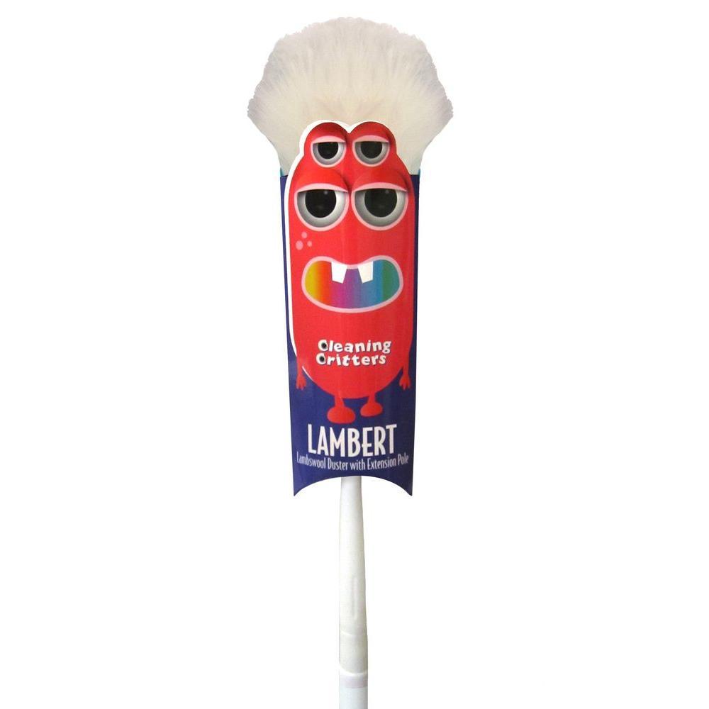 Ettore Cleaning Critters Lambert Lambswool Duster with Extension Pole