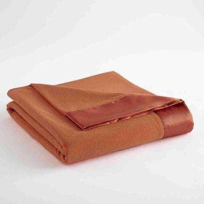Full Queen Spice Year Round Polyester Sheet Blanket