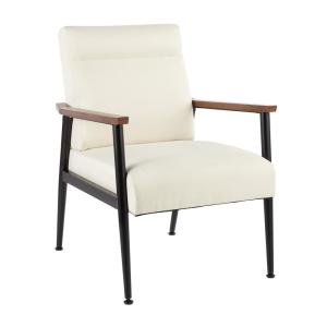 Nigiri Cream Contemporary Upholstered Armchair