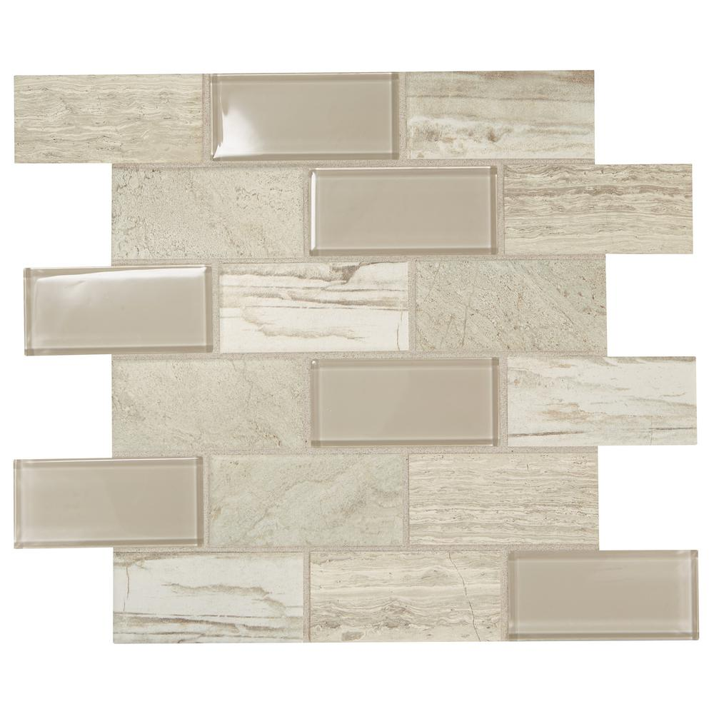 - Daltile Premier Accents Beach Brick Joint 11 In. X 13 In. X 6 Mm