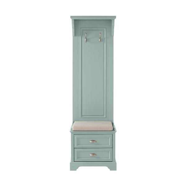 Home Decorators Collection Sadie Antique Blue Hall Tree 9856100310