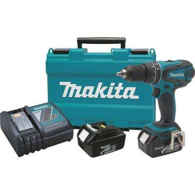 18-Volt LXT Lithium-Ion 1/2 in. Cordless Hammer Driver-Drill Kit with (2) Batteries (3.0 Ah), Charger and Hard Case