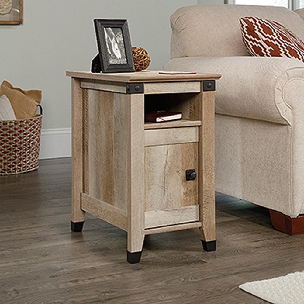 Carson Forge Lintel Oak End/Side Table