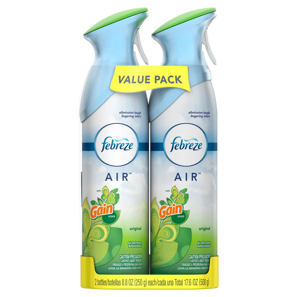 Air 8.8 oz. Original Gain Scent Air Freshener Spray (2-Pack)