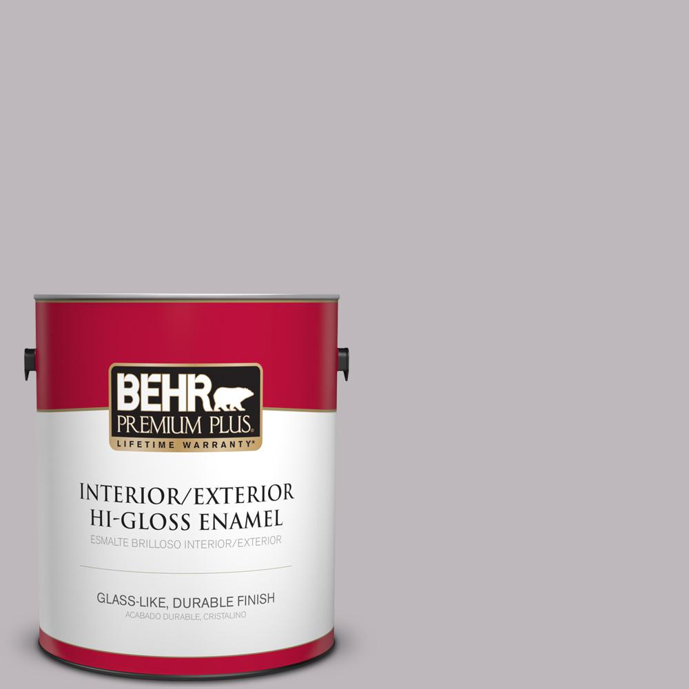 1 gal. #PPU16-10 French Lilac Hi-Gloss Enamel Interior/Exterior Paint