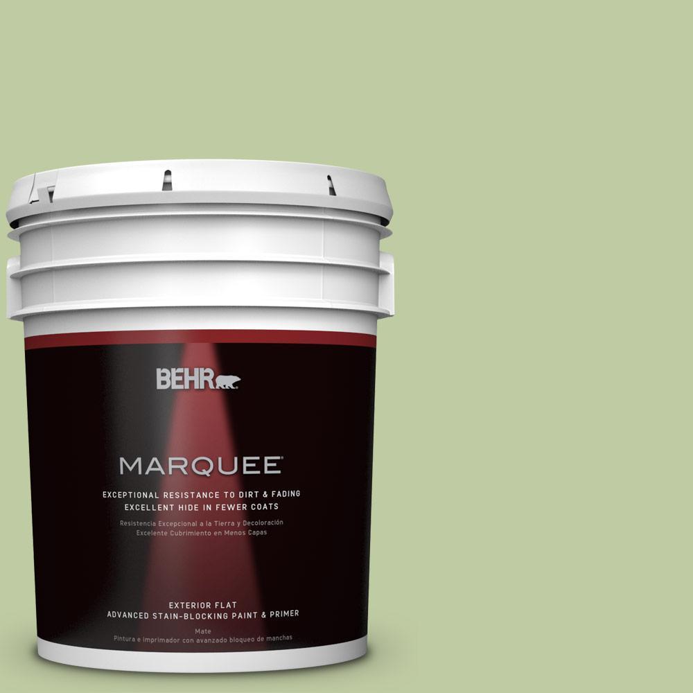 5-gal. #M360-4 Marjoram Flat Exterior Paint