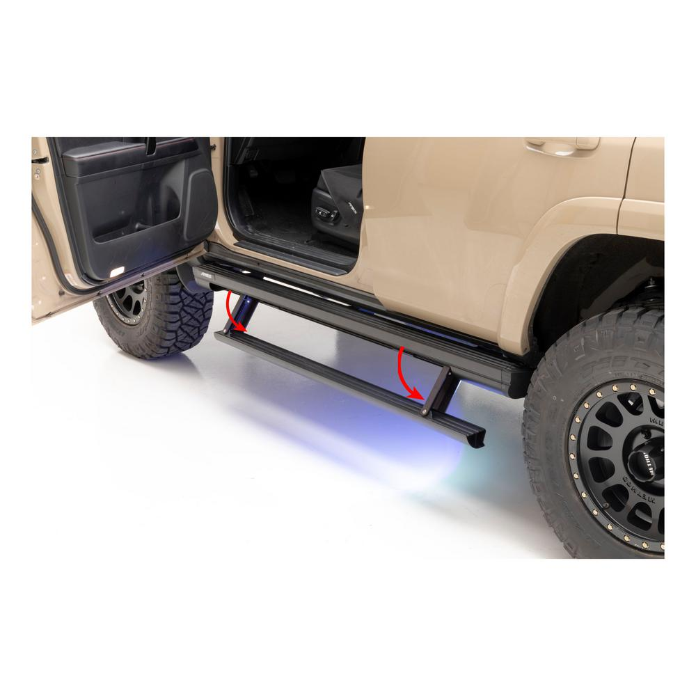 Power Running Boards >> Aries Actiontrac Powered Running Boards