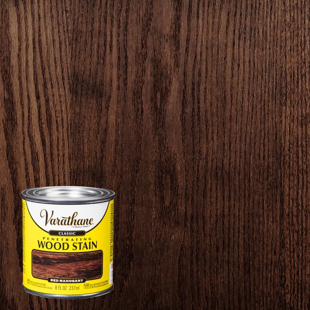 Varathane 8 oz. Red Mahogany Classic Wood Interior Stain