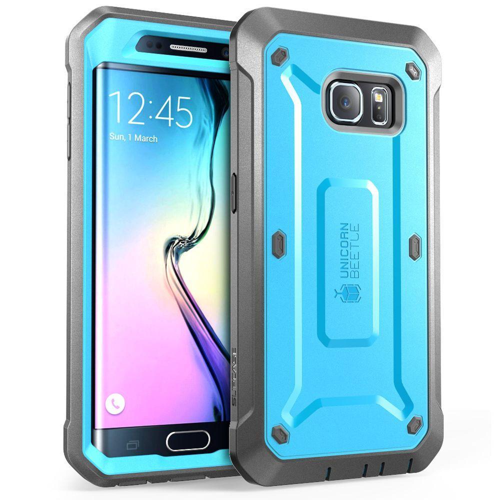 Supcase Unicorn Beetle Pro Full Body Case For Samsung Galaxy S6 Edge Blue