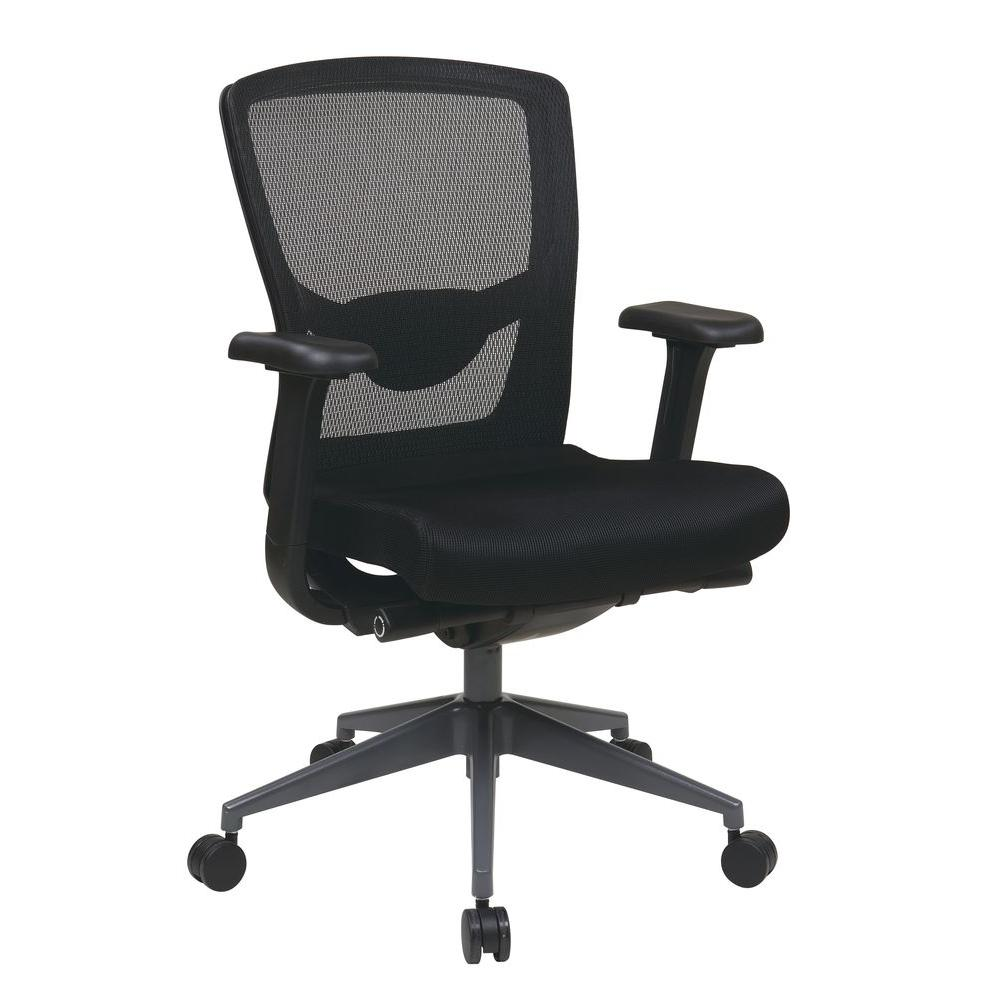 Pro Line Ii Black Progrid Executive Office Chair