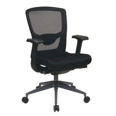 Black ProGrid Executive Office Chair