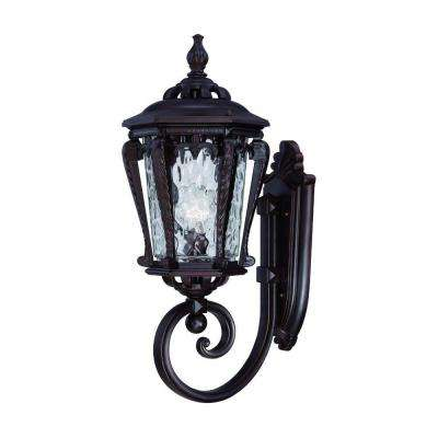 Stratford Collection 1-Light Architectural Bronze Outdoor Wall-Mount Light Fixture